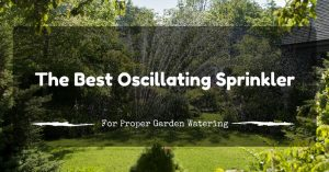 The Best Oscillating Sprinkler For Proper Garden Watering