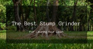 The Best Stump Grinder For Clearing Your Lawn