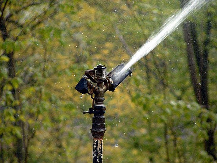 best tripod water sprinkler