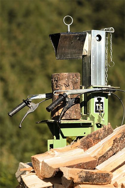 best log splitter with log lift