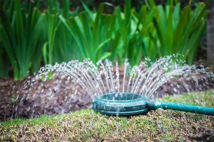 best sprinkler for small lawn