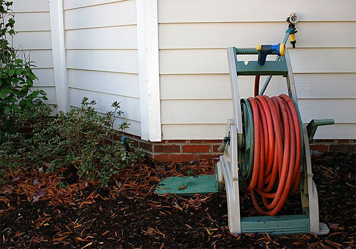 best garden hose reel with wheels